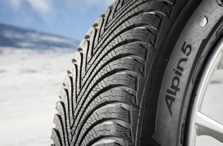Quinta generación de neumáticos de invierno