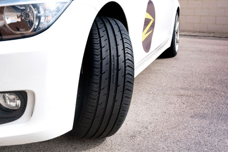 Z Tyre 1 destaca en los tests en Idiada
