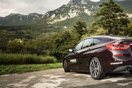 Nuevo equipo original Hankook para el BMW 6 Gran Turismo