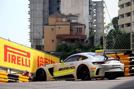 P Zero DHD2 en el circuito de Macao