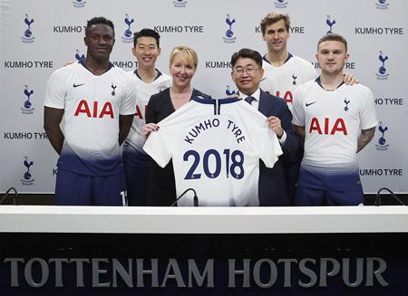 Kumho amplía su acuerdo de patrocinio con el Tottenham Hotspur