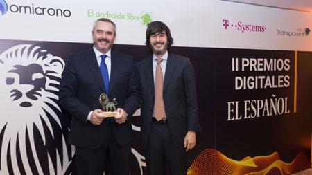 Continental premiada en los II Premios Digitales de El Español
