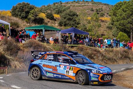 Triplete de Pirelli en el Campeonato de España de Rallyes de Asfalto